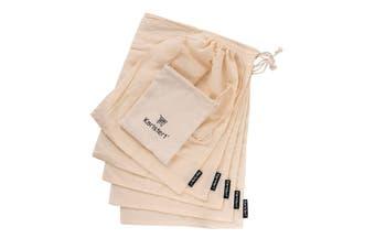 Karlstert Set 5 Cotton Muslin Produce Bags