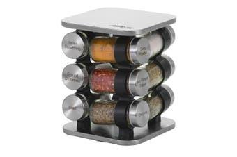 Avanti Revolving Herb and Spice Rack Set 12 Jars