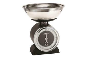Avanti Vintage Mechanical Kitchen Scales 5kg Black
