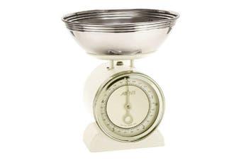 Avanti Vintage Mechanical Kitchen Scales 5kg Cream