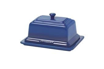 Chasseur La Cuisson Ceramic Butter Dish - Blue