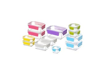 Glasslock 12 Piece Food Container Set With Lids