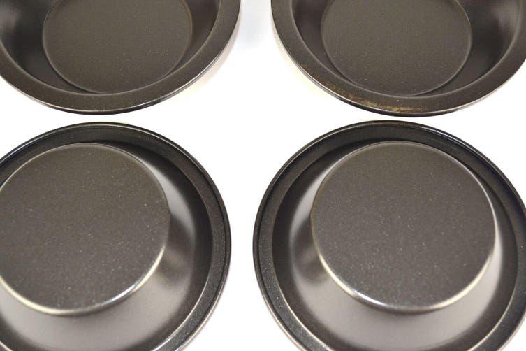 12Cm X 3Cm Non Stick Mini Pie Pans Set Of 4