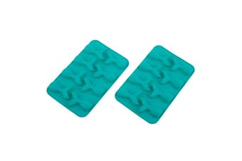 Daily Bake Silicone Chocolate Moulds Set 2 Mermaid Tail