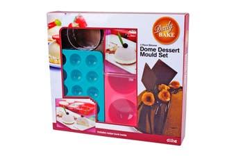Silicone Dome Dessert Mould Set