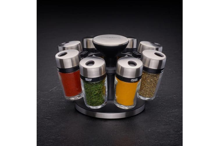 Cole & Mason 8 Jar Herb and Spice Storage Carousel