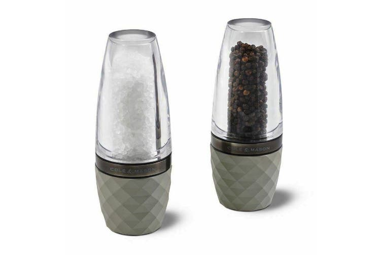 Cole and Mason Salt and Pepper Mill Set City Concrete 16.5cm