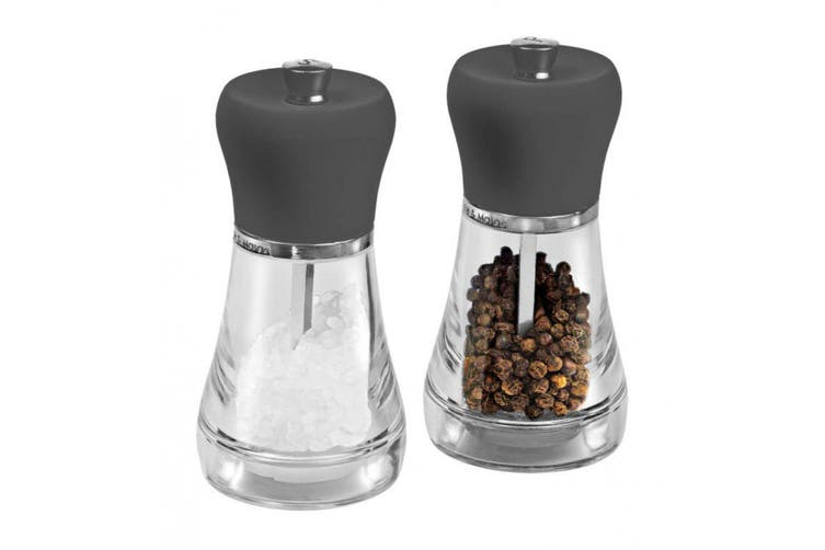 Cole & Mason Salt And Pepper Mill Set - Napoli 12cm