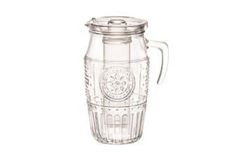 Bormioli Rocco Romantic 1.8L Glass Water Pitcher + Insert