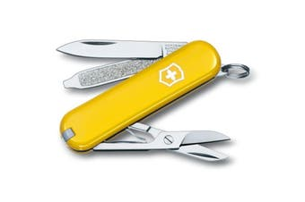 Victorinox Classic SD Swiss Army Knife YELLOW