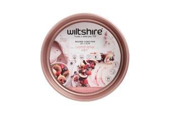 Wiltshire Rose Gold Non Stick Round Cake Pan 20cm