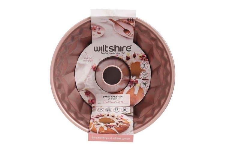 Wiltshire Rose Gold Non Stick Bundt Pan 21cm