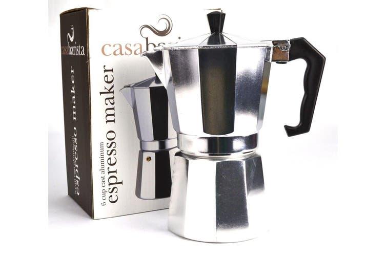 Casabarista 6 Cup Aluminium Percolator