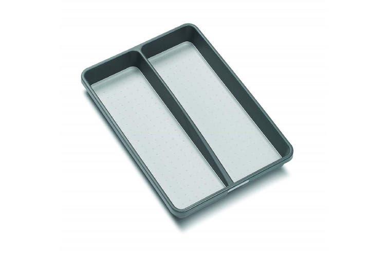 Madesmart 2 Compartment Mini Utility Tray - Grey