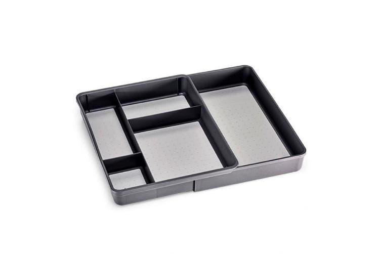 Madesmart Expandable Utility Tray - Grey