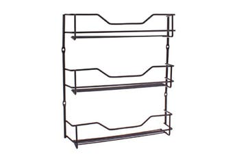 Entree Black 3 Tier Spice Rack