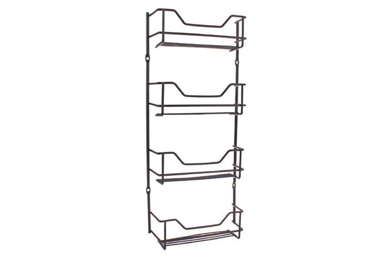 Entree Black 4 Tier Spice Rack
