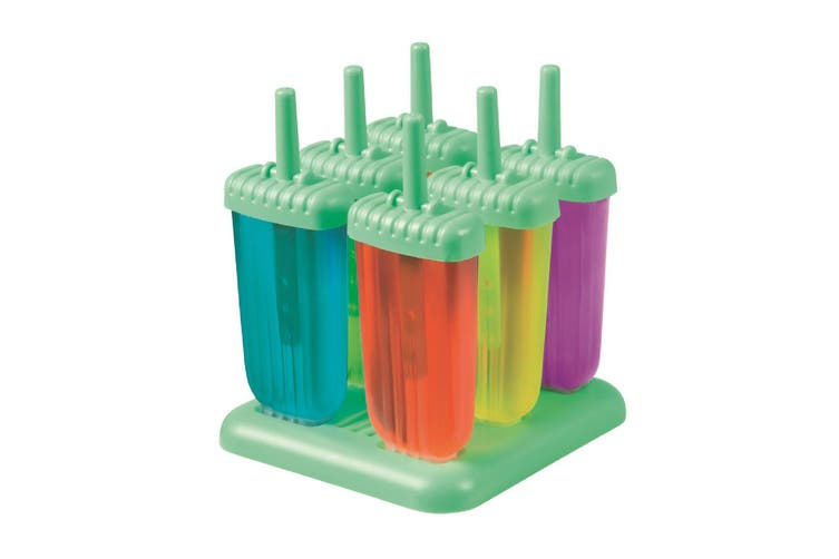 Avanti Groovy Green Ice Pop Moulds - Set Of 6