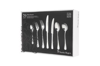 Stanley Rogers 70 Piece Manchester Cutlery Gift Boxed Set