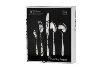 Stanley Rogers 30 Piece Albany Cutlery Gift Boxed Set