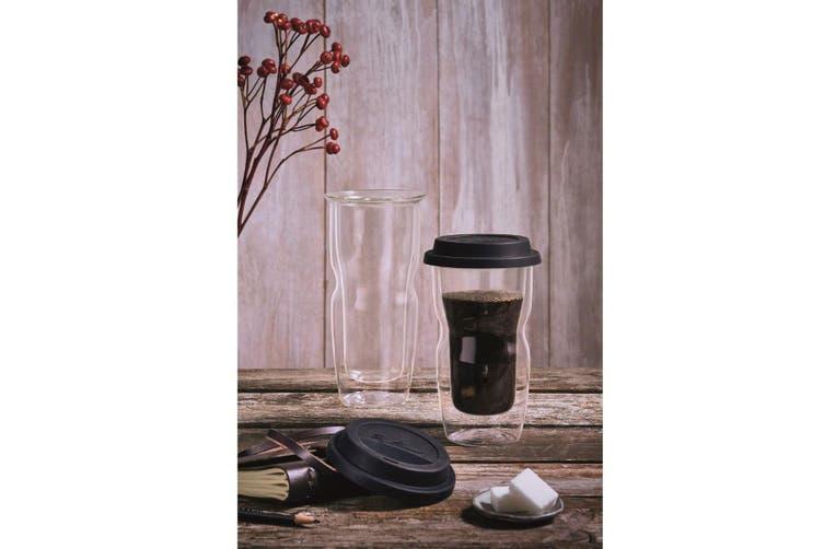 Luigi Bormioli Thermic Coffee on The Go Double-Wall Travel Mug