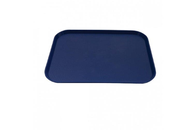 Caterrax Polypropylene Food Serving Tray 45 x 35cm Blue