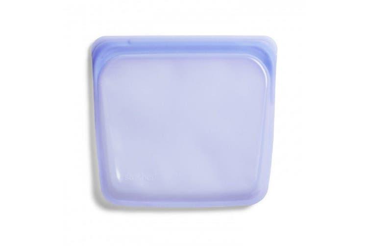 Stasher Reusable Sandwich Bag 450ml Amethyst