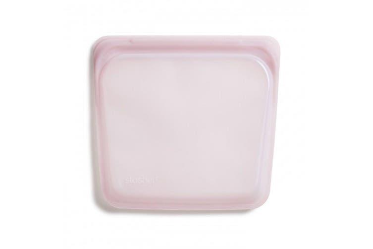 Stasher Reusable Sandwich Bag 450ml Rose Quartz