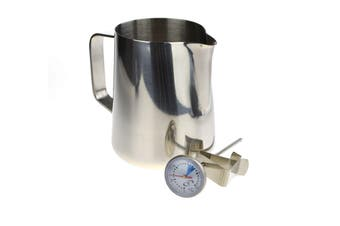 400Ml Milk Jug And Thermometer