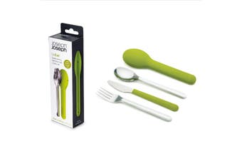 Joseph Joseph GoEat 3 Piece Stainless Steel Cutlery Set