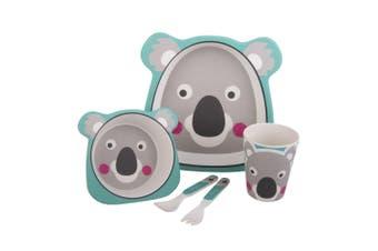 Bambeco Bamboo 5 Piece Kids Meal Set -Koala