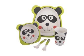 Bambeco Bamboo 5 Piece Kids Meal Set -Panda