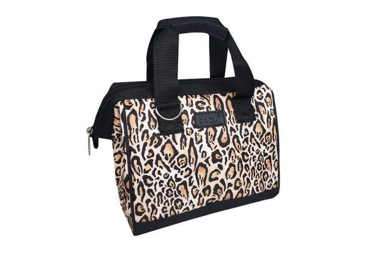New Sachi Insulated Lunch Bag Lepoard