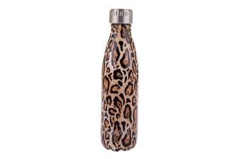 Oasis Drink Bottle 500ml Leopard