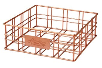 Academy Orwell Copper Square Napkin Holder
