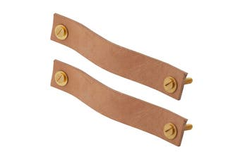 Academy Miller Leather Handles - Set Of 2