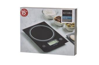 Accura Pro Aquarius Electronic Digital Kitchen Scale 15kg