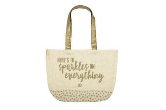 Baileys Cotton Shopping Tote Bag 38 x 45cm Cream