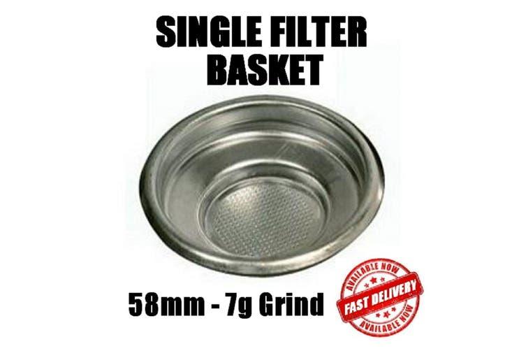 58Mm Single Filter Basket