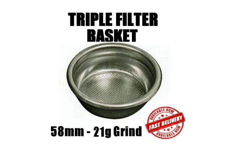 58Mm Triple Filter Basket
