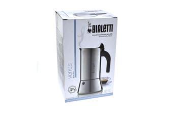 Bialetti Venus 6 Cup Stainless Steel Espresso Maker