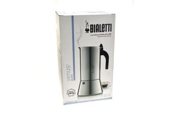 Bialetti Venus 10 Cup Stainless Steel Coffee Maker