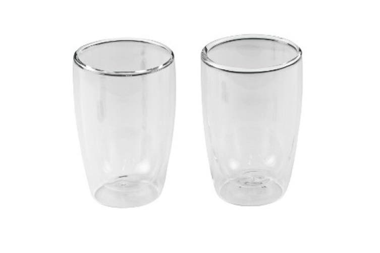 280Ml Dual Double Wall Espresso Cups Set Of 2