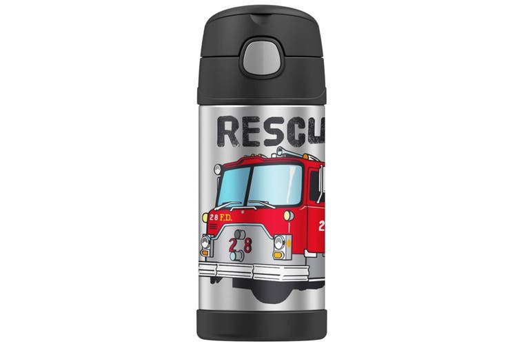 Thermos Funtainer 290Ml Food Container + 355Ml Drink Bottle Firetruck