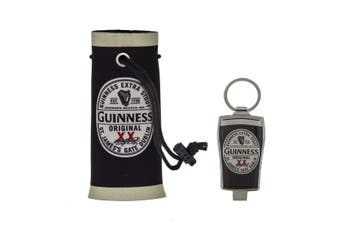 Guinness Beer Cooler and Bottle Opener Keyring Gift Set