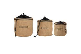 Hessian Preserving Bag Set - Potato Garlic & Onion
