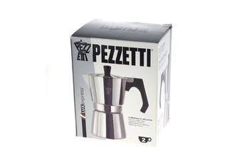 Pezzetti Aluminium Moka Espresso Coffee Maker-2 Cup