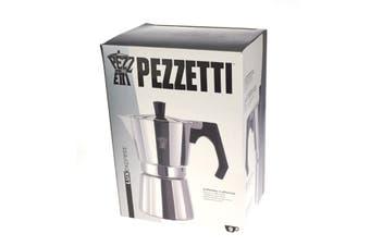 Pezzetti Aluminium Moka Espresso Coffee Maker-9 Cup