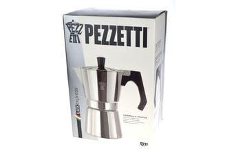 Pezzetti Aluminium Moka Espresso Coffee Maker-12 Cup