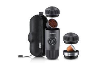Wacaco Nanopresso Espresso Coffee Machine + Case + Adapter